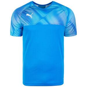 CUP Fußballtrikot Herren, blau / weiß, zoom bei OUTFITTER Online