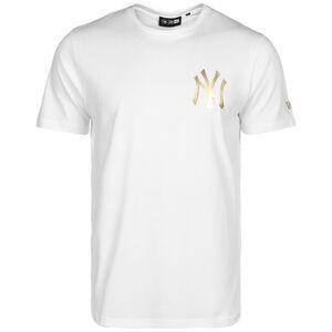 MLB New York Yankees Metallic T-Shirt Herren, weiß, zoom bei OUTFITTER Online