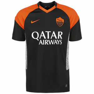 AS Rom Trikot 3rd Stadium 2020/2021 Herren, schwarz / orange, zoom bei OUTFITTER Online