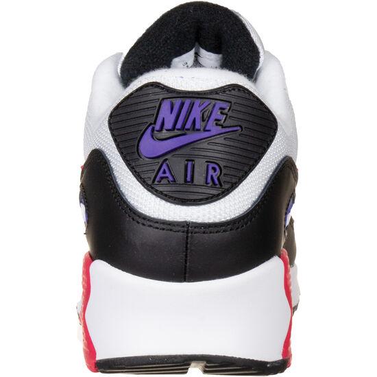 Air Max 90 Essential Sneaker Herren, weiß / lila, zoom bei OUTFITTER Online