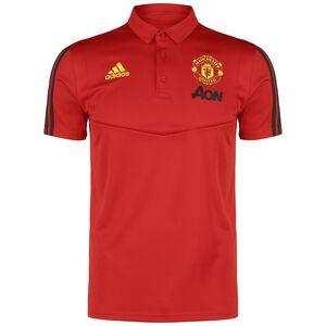 Manchester United Poloshirt Herren, rot / gelb, zoom bei OUTFITTER Online