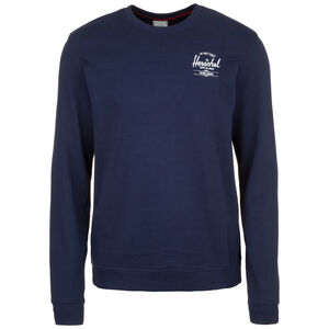 Crewneck Sweatshirt Herren, dunkelblau / weiß, zoom bei OUTFITTER Online