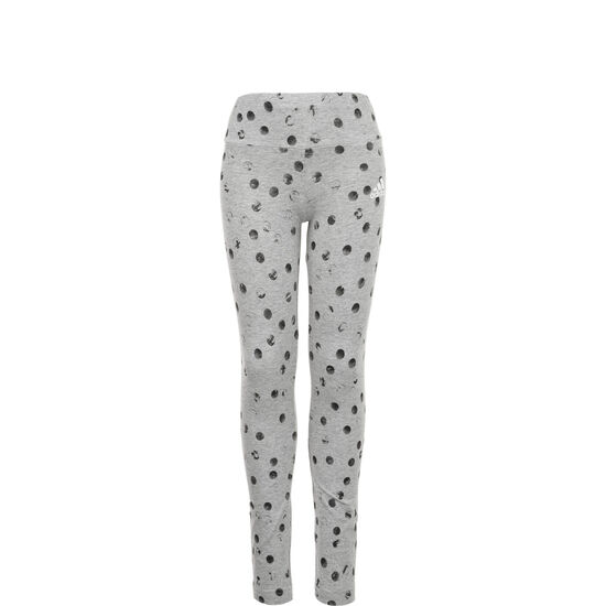 Must Haves Graphic Leggings Kinder, grau / schwarz, zoom bei OUTFITTER Online