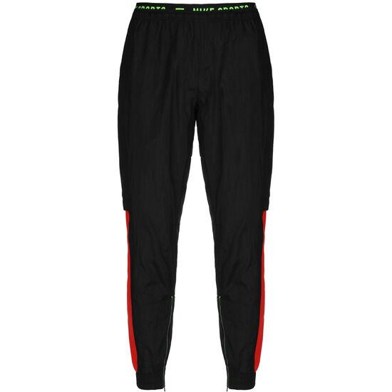 Flex Trainingshose Herren, schwarz / rot, zoom bei OUTFITTER Online