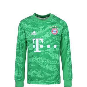 FC Bayern München Torwarttrikot Home 2019/2020 Kinder, grün / weiß, zoom bei OUTFITTER Online
