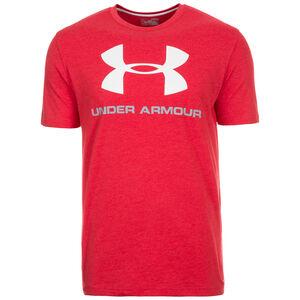 HeatGear CC Sportstyle Logo Trainingsshirt Herren, Rot, zoom bei OUTFITTER Online