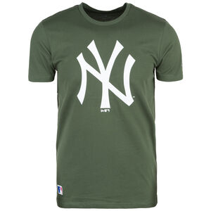 MLB Seasonal Team Logo New York Yankees T-Shirt, grün / weiß, zoom bei OUTFITTER Online