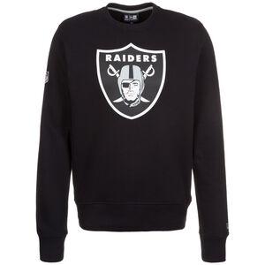 NFL Team Logo Oakland Raiders Sweatshirt Herren, Schwarz, zoom bei OUTFITTER Online