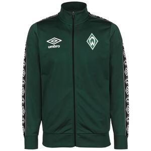 SV Werder Bremen Icon Tricot Trainingsjacke Herren, dunkelgrün / schwarz, zoom bei OUTFITTER Online