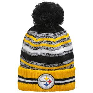 NFL Pittsburgh Steelers Sideline Bobble Knit Mütze, , zoom bei OUTFITTER Online
