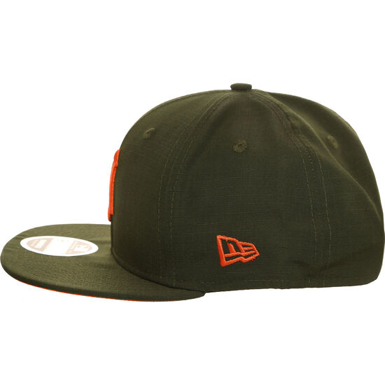 9FIFTY MLB Detroit Tigers Utility Snapback Cap, oliv / orange, zoom bei OUTFITTER Online