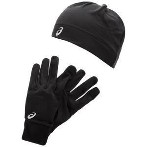 Running Pack Mütze und Handschuh Set, schwarz, zoom bei OUTFITTER Online