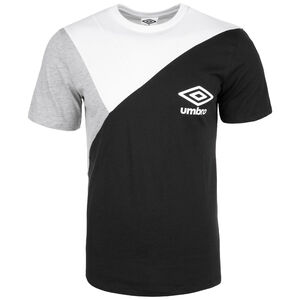 Colourblock T-Shirt Herren, schwarz / weiß, zoom bei OUTFITTER Online