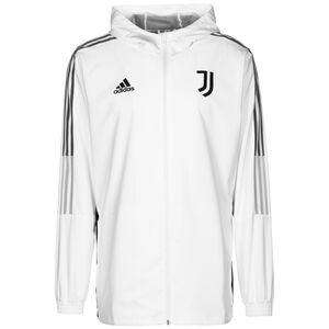 Juventus Turin Präsentationsjacke Herren, weiß / grau, zoom bei OUTFITTER Online