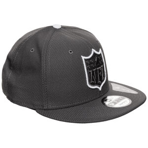 9FIFTY NFL Official Logo Outline Snapback Cap, anthrazit / weiß, zoom bei OUTFITTER Online