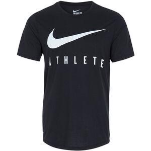 DB Swoosh Athlete Trainingsshirt Herren, schwarz / weiß, zoom bei OUTFITTER Online