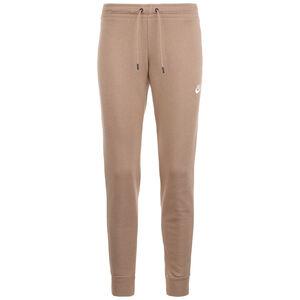 Essential Fleece Jogginghose Damen, hellbraun, zoom bei OUTFITTER Online