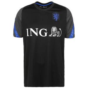 Niederlande Breathe Strike Trainingsshirt Herren, schwarz / blau, zoom bei OUTFITTER Online