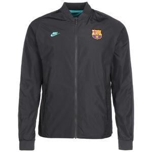 FC Barcelona Reversible Jacke Herren, anthrazit / grün, zoom bei OUTFITTER Online