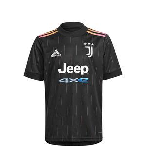 Juventus Turin Trikot Away 2021/2022 Kinder, schwarz / pink, zoom bei OUTFITTER Online