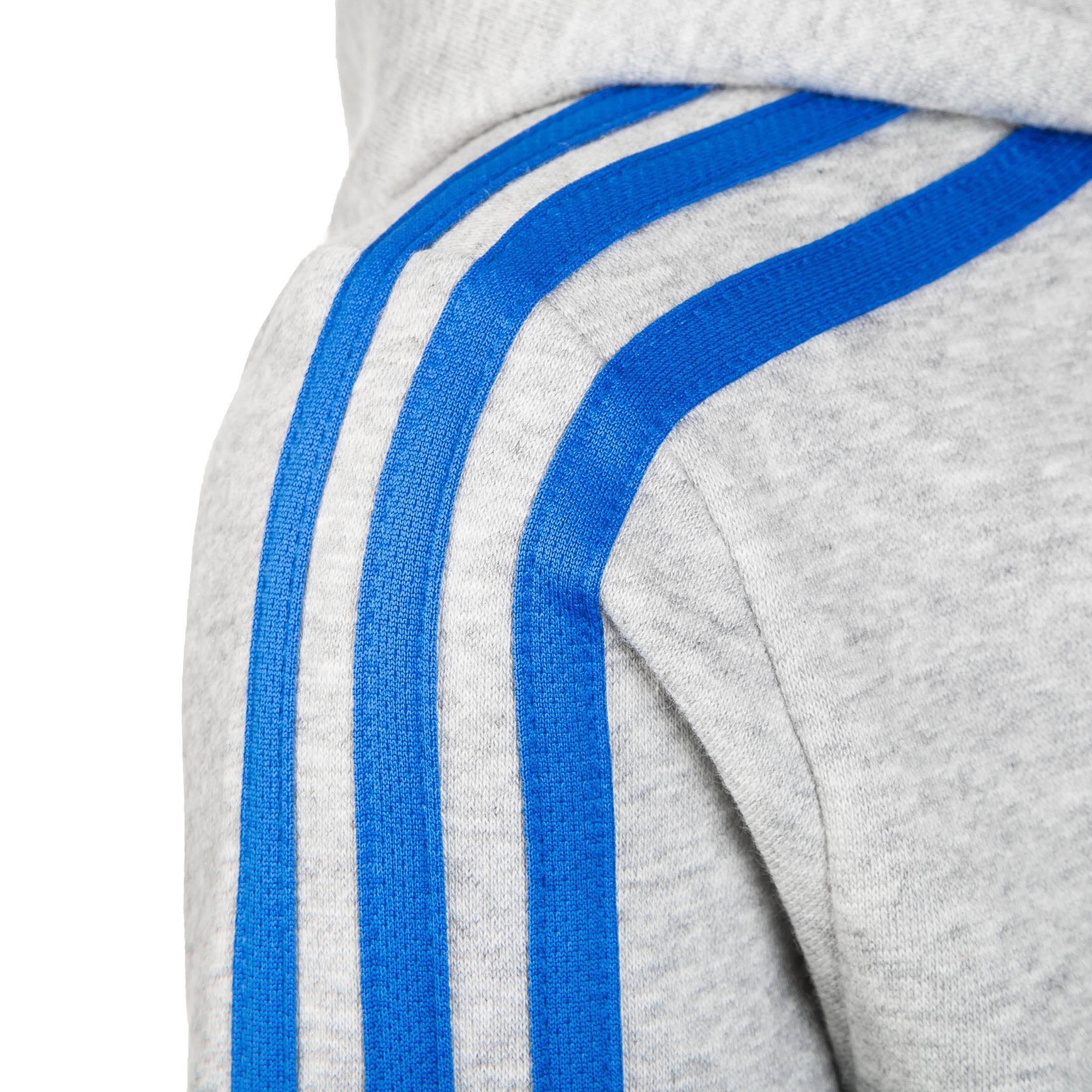 Essentials 3 Stripes Kapuzenjacke Kinder