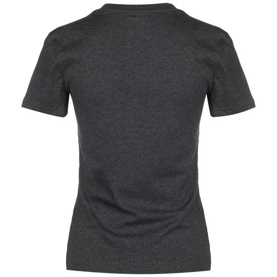 Essentials Linear Slim T-Shirt Damen, dunkelgrau / flieder, zoom bei OUTFITTER Online