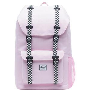 Little America Rucksack Kinder, rosa / schwarz, zoom bei OUTFITTER Online