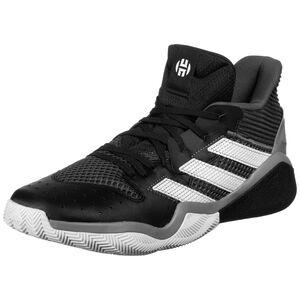 Harden Stepback Basketballschuh Herren, schwarz / weiß, zoom bei OUTFITTER Online