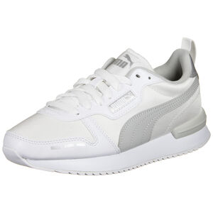 R78 Metallic Sneaker Damen, weiß / silber, zoom bei OUTFITTER Online