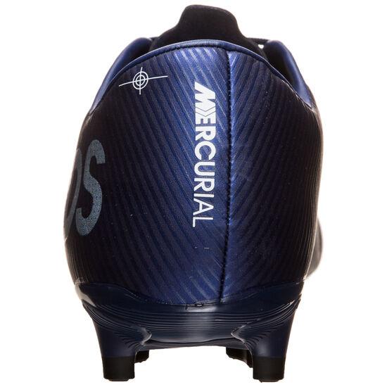 Mercurial Vapor 13 Academy MDS MG Fußballschuh Herren, blau / gelb, zoom bei OUTFITTER Online