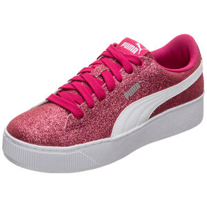 Vikky Platform Glitz Sneaker Kinder, Rot, zoom bei OUTFITTER Online