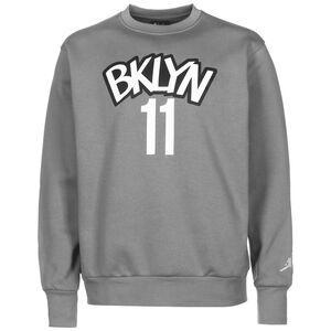 NBA Brooklyn Nets Kyrie Irving Statement Edition Sweatshirt Herren, grau / weiß, zoom bei OUTFITTER Online