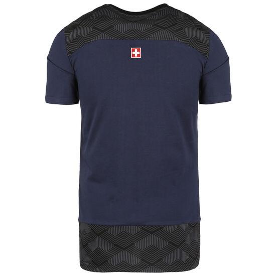 SFV Schweiz Casuals T-Shirt EM 2021 Herren, dunkelblau / anthrazit, zoom bei OUTFITTER Online