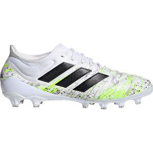 Copa 20.1 AG Fußballschuh Herren, weiß / neongrün, zoom bei OUTFITTER Online