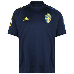 Schweden Trainingsshirt EM 2021 Herren, dunkelblau / gelb, zoom bei OUTFITTER Online
