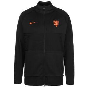 Niederlande Strike Anthem Jacke EM 2021 Herren, schwarz / orange, zoom bei OUTFITTER Online