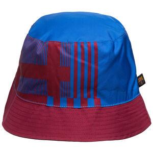 FC Barcelona Reversible Fischerhut, blau / rot, zoom bei OUTFITTER Online