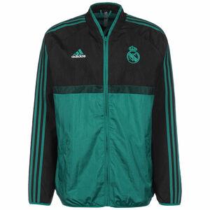 Real Madrid Icon Jacke Herren, schwarz / petrol, zoom bei OUTFITTER Online