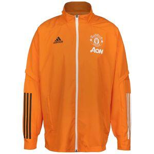 Manchester United Präsentationsjacke Herren, orange / weiß, zoom bei OUTFITTER Online
