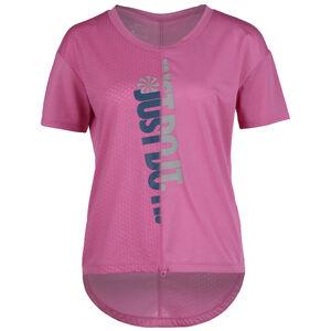 Icon Clash Laufshirt Damen, pink / silber, zoom bei OUTFITTER Online