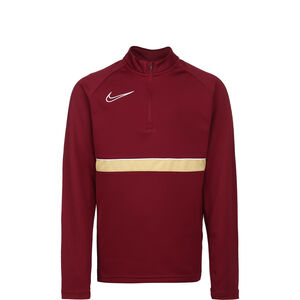 Academy 21 Dry Drill Longsleeve Kinder, rot / gold, zoom bei OUTFITTER Online
