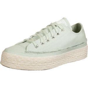 Chuck Taylor All Star Espadrille OX Sneaker Damen, hellgrün / beige, zoom bei OUTFITTER Online