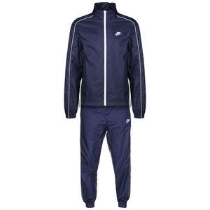 Sportswear CE Tracksuit Woven Basic Trainingsanzug Herren, dunkelblau / weiß, zoom bei OUTFITTER Online