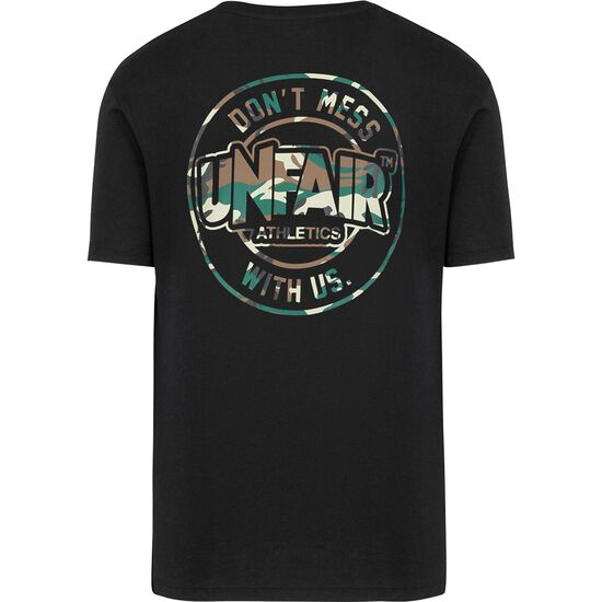 DMWU Classic Brushed T-Shirt Herren, schwarz, zoom bei OUTFITTER Online
