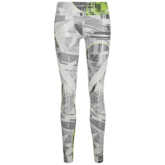 47ed84ee833be9 ... WOR Meet You There Moonshift Trainingstight Damen, grau / neongrün,  zoom bei OUTFITTER Online ...
