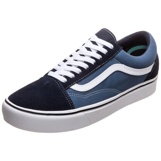 Old Skool ComfyCush Sneaker, dunkelblau / weiß, zoom bei OUTFITTER Online