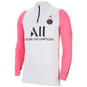 Paris St.-Germain VaporKnit Strike Drill Trainingssweat Herren, weiß / pink, zoom bei OUTFITTER Online