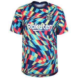 FC Barcelona Breathe Pre-Match Trainingsshirt Herren, blau / gelb, zoom bei OUTFITTER Online