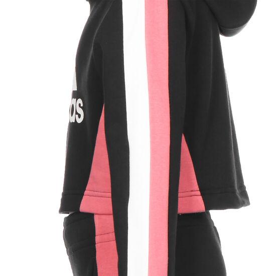 Colorblock Crop Top Trainingsanzug Kinder, schwarz / weiß, zoom bei OUTFITTER Online