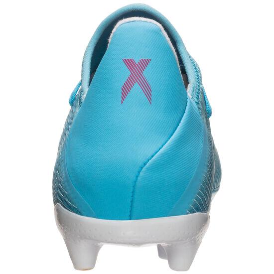 X 19.3 Fußballschuh Herren, hellblau / schwarz, zoom bei OUTFITTER Online